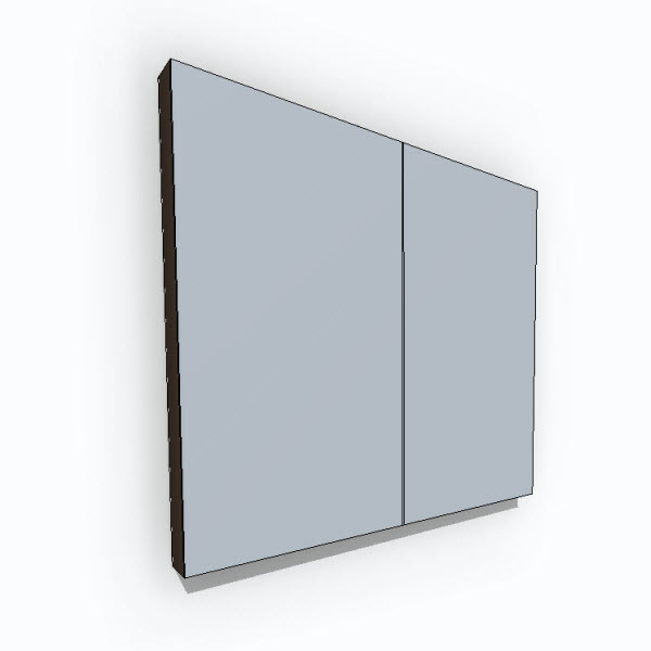 WETSTYLE M Collection Mirrors Recessed